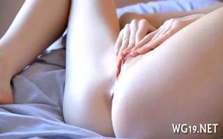 angel masturbates on webcam