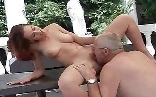 older man bonks nice-looking breasty legal age