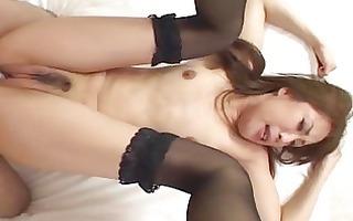 ayaneamazing oriental model enjoys a hard core
