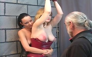 11 bdsm lesbian doxies eat bawdy cleft and spank