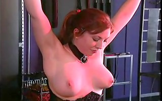 large love bubbles gal into bondage and s&m