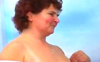 sexually excited mom drilled by younger