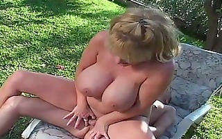 large boob mother i outside sex in hooter nation