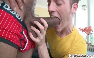 twink gets ripped apart by castros giant