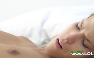 ultra lovely lesbian babes in bedroom