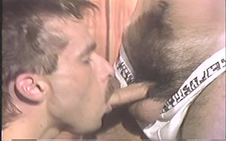 vintage scene of a-hole licking and fucking -