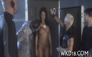 angel receives drilled hard