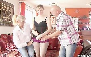 depraved parents seduces their sons gf