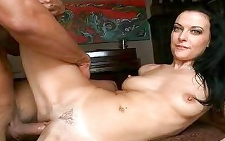 tanned dark brown d like to fuck receives her