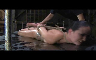 bdsm perverts villein hailey youthful oiled and