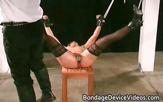 clamps on her twat hardcore fetish part9