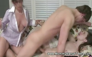 kinky mother i and daughter getting fucked