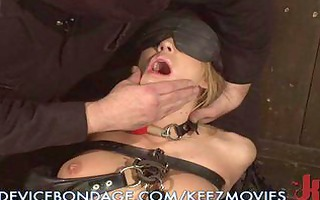 she is receives horny to be tied