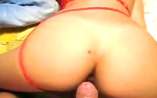euro wife drilled from behind