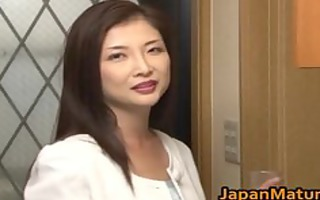 chisa kirishima older oriental lady shows part4