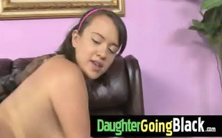college slut daughter banged by a darksome cock 80