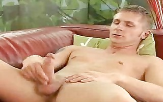 solo tugjob for aged homo boy