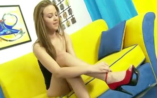non-professional step daughter fingered and licked