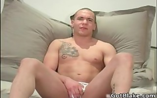sexy mark g wanking his inflexible homo ramrod