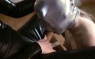luxury dong girl9girl in mask playing