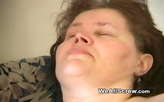 younger lad dildos old womans a-hole and bonks her