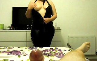 wife eats all his ball batter