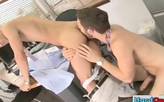 got homosexual fucking at the office part3