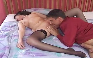 aged mother id like to fuck in stockings gets a