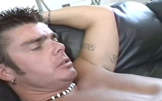 brutal anal with oriental floozy on daybed