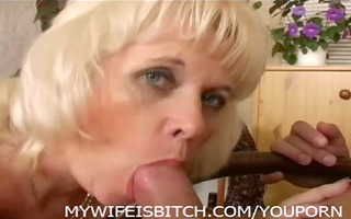 golden-haired aged fucked