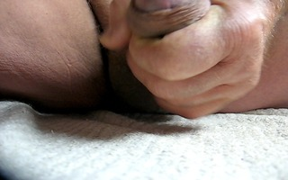 10 yr old older man close cum #85 cumshot upclose
