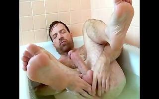 sexy dad in the bath