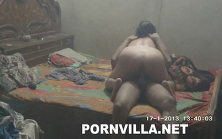 my wife drilled hard by me