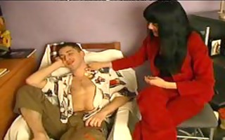 mother caught her guy masturbating aged aged porn
