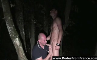 rimjob for hardcore homosexuals outdoors in france