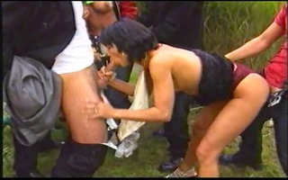 wild pool group-sex fuckfest -8-