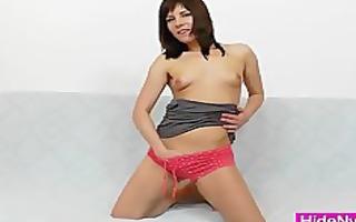 leony aprill obscene nylon fetish