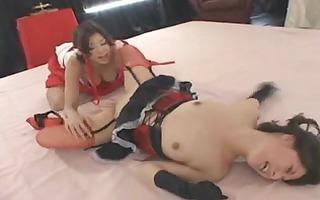 yuka oosawa lesbian wrestling 7