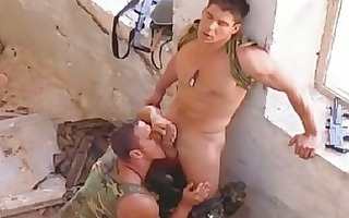 military in war engulf and fuck every other