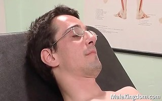 obscene homosexual is laid on sofa doctors part3