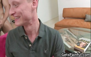 concupiscent white boy receives fucked into ass