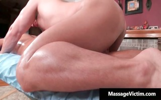 erotic oily massage makes this homosexual part0