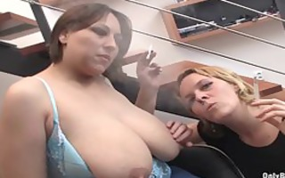 nadia and ally blow dick