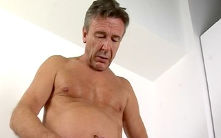 hot dad blows his load