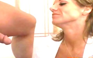 breasty milf receives her constricted cunt pounded