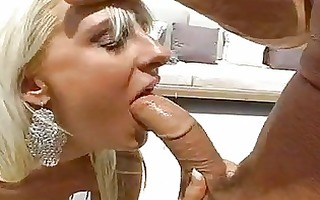 blond momma emilianna slips an excellent meatpole