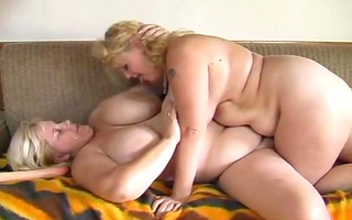 two bulky big beautiful woman mother and daughter