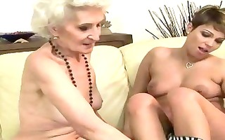 old vs juvenile lesbian babes