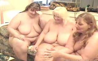 5 obese girls
