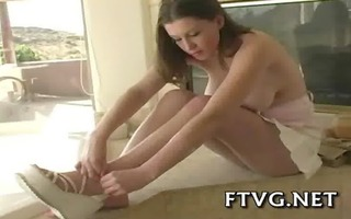 sweetheart plays with sextoy